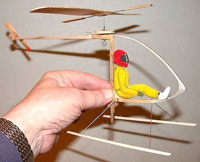 Alpha Romeo Make A Awesome Rubber Powered Fly