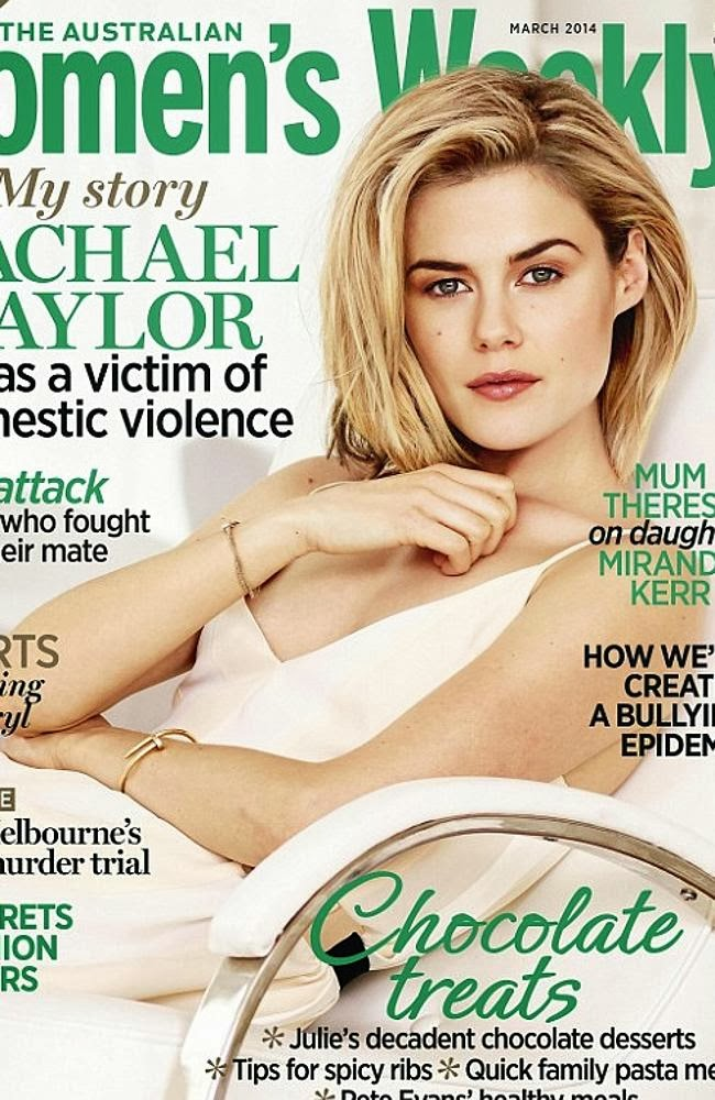Rachael Taylor Photos from Women's Weekly Australia Magazine Cover March 2014 HQ Scans