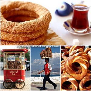 Makanan Khas Turki Istambul Simit