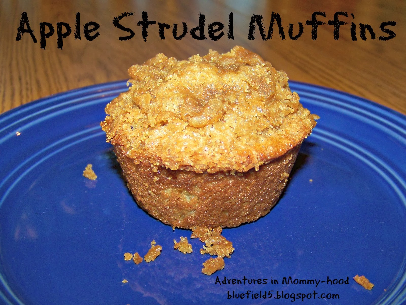 Adventures in Mommy-hood: Apple Strudel Muffins