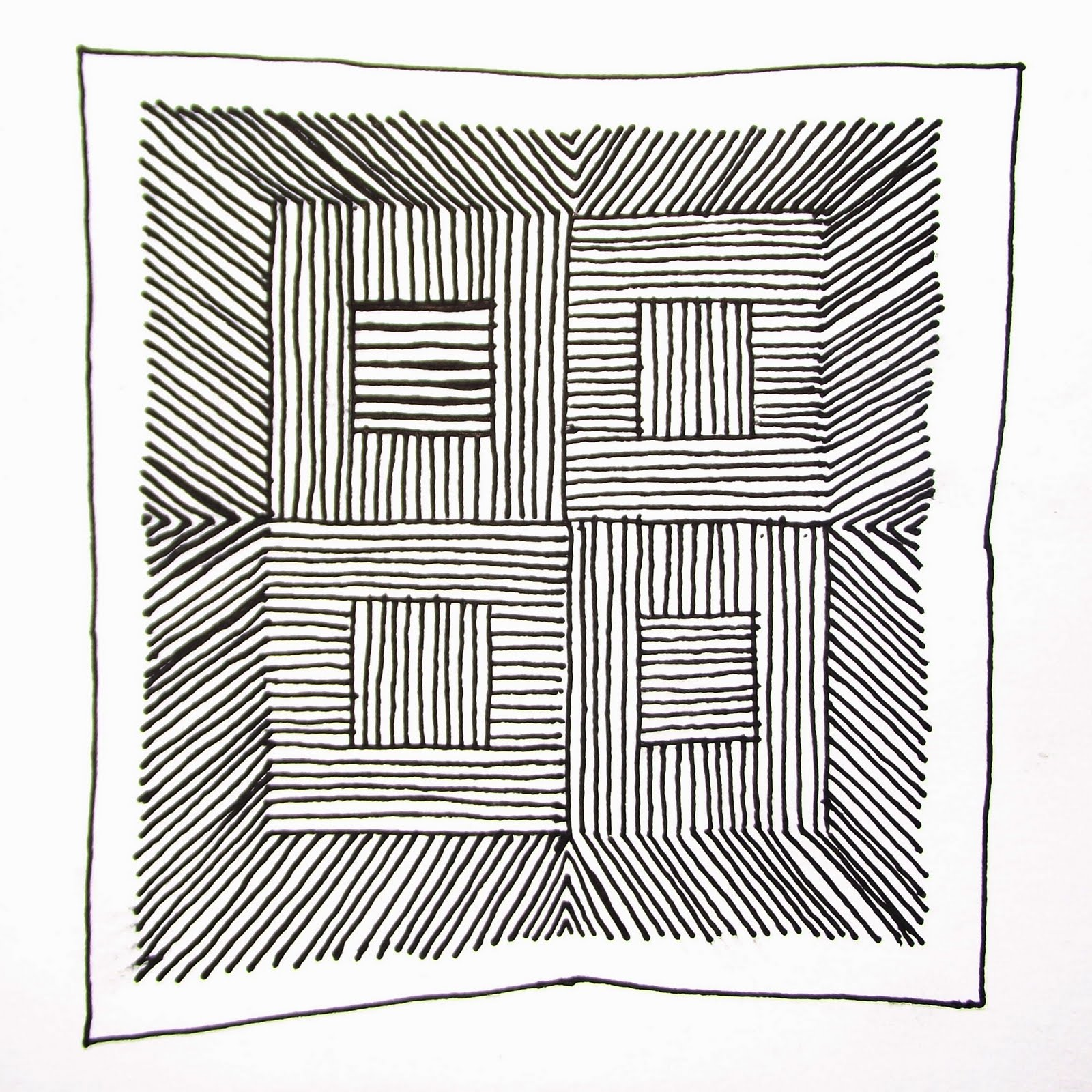 Drawing Lines Freehand : Benjamin drawing daily freehand line