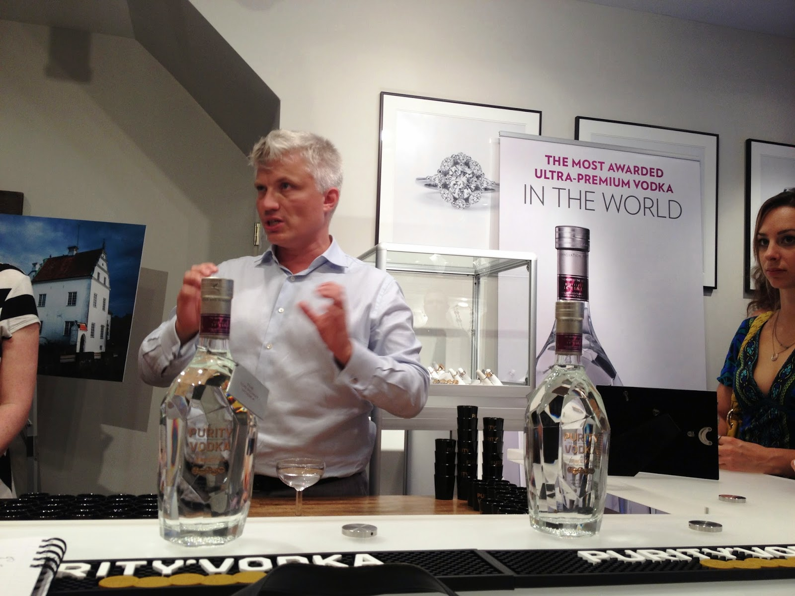 Master Blender Thomas Kuuttanen of Purity Vodka