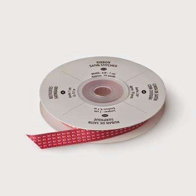 "Primrose-Petals-3/8"" Stitched Satin Ribbon"