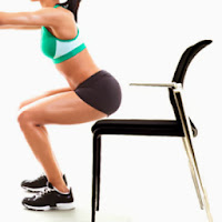 Chair Squats at home Health Exercises Beauty Tips for Indian Women