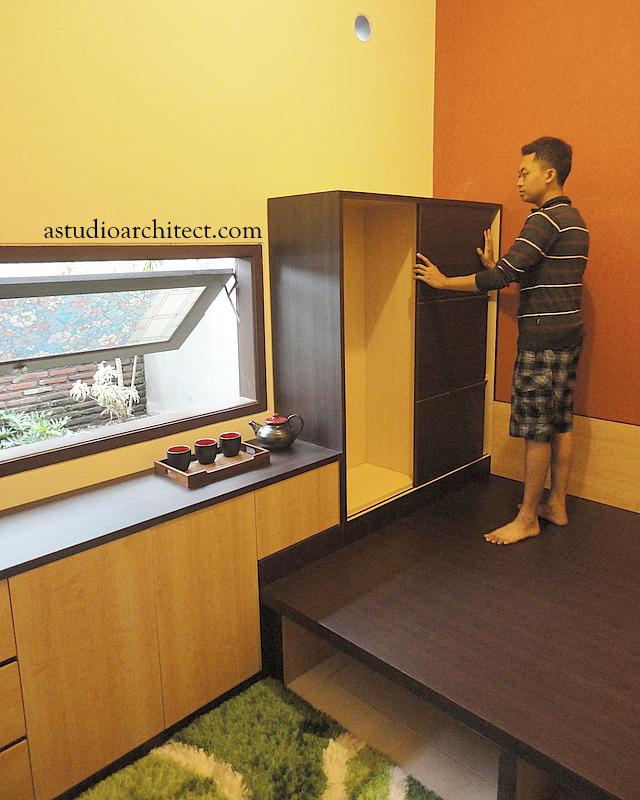 a ide tata ruang kamar yang mungil 2 5x3meter