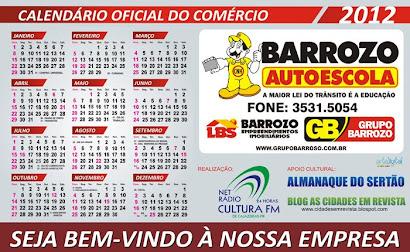 CALENDARIO OFICIAL DA AUTO ESCOLA BARROZO