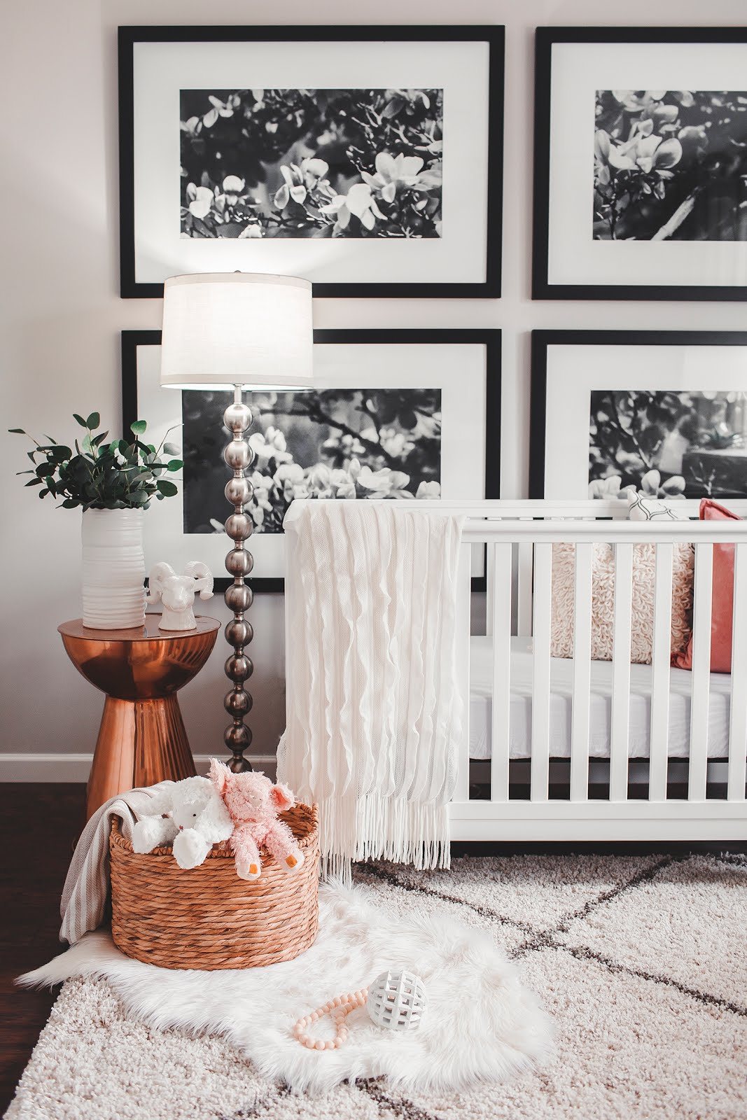 Shop the Digital Downloads of the Black and White Prints from Emma's Nursery