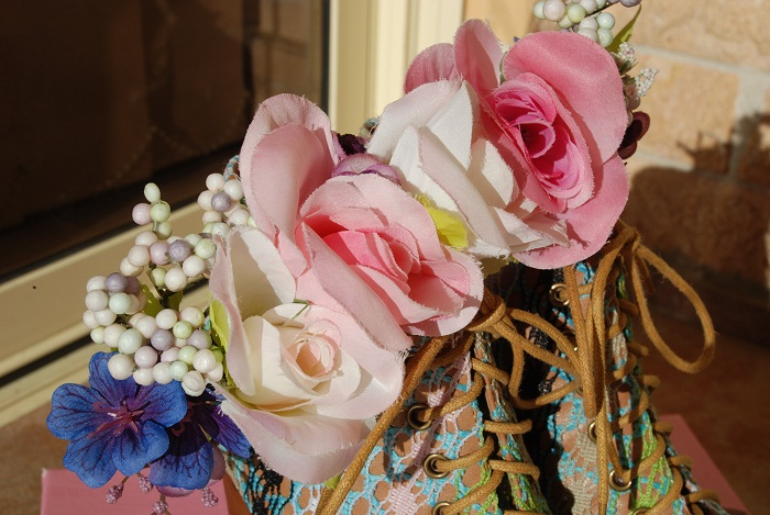 Jeffrey Campbell, Lita, heel, shoe, pastel, crochet, flower, floral, crown