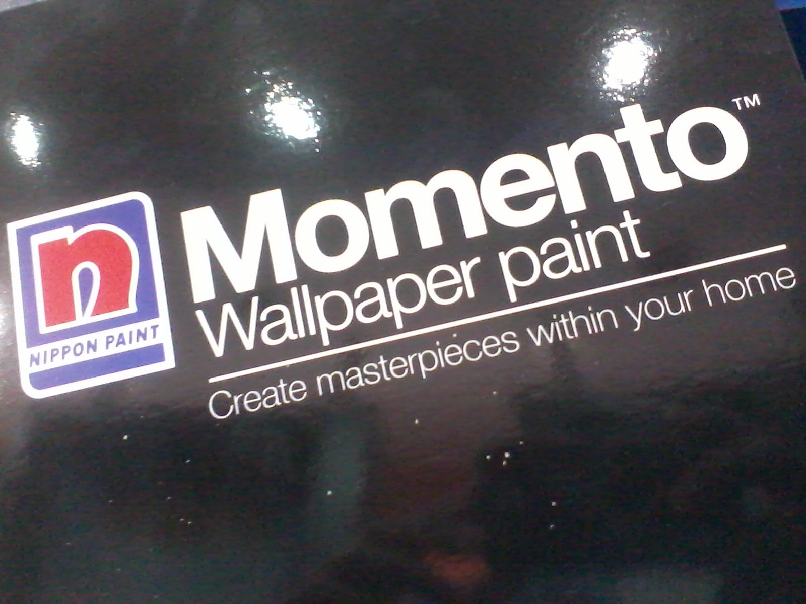 sumber : Catalog cat Momento Wallpaper Paint