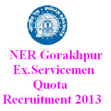 Recruitment in North Eastern Railway