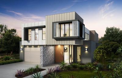 Fachadas de casas modernas con ideas para revestimientos - Revestimiento de fachadas economico ...
