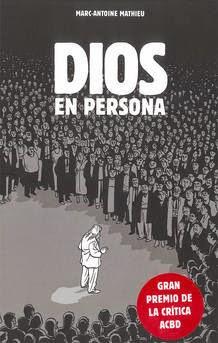 """""""Dios en persona"""" de Marc-Antoine Mathieu."""