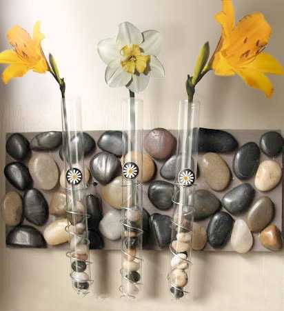 How To Recycle Gorgeous Test Tube Flower Vases