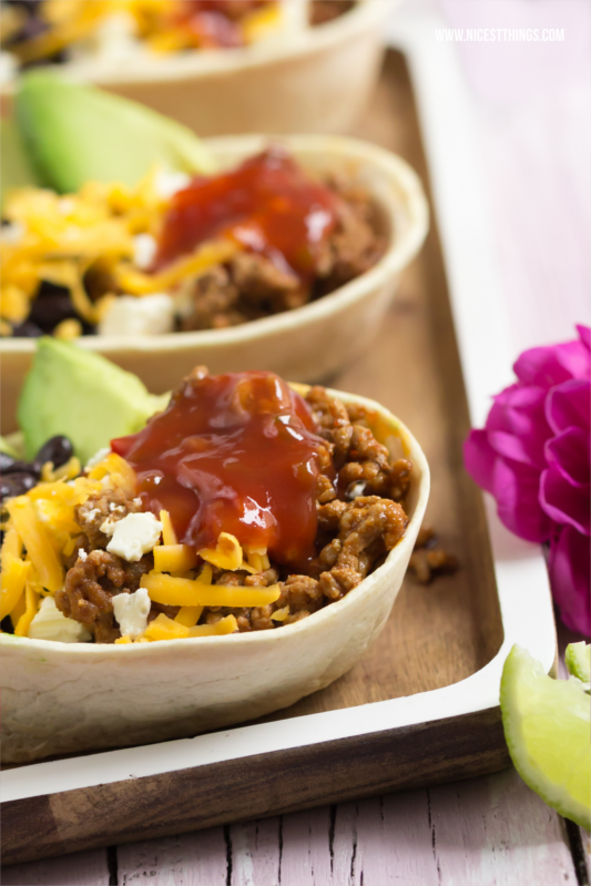 Stuffed Mexican Tortillas With Avocado, Cheddar, Black Beans