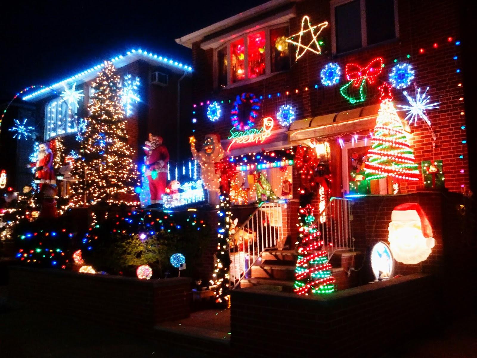 #B1211A Une Grosse Pomme à NY: Dyker Heights Christmas Lights  5329 décorations de noel aux etats unis 1600x1200 px @ aertt.com