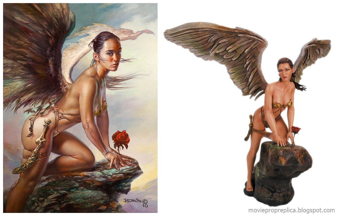 Her Garden by Boris Vallejo