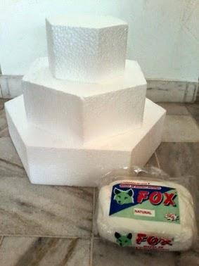 bolo falso, decoração, festa, casamento