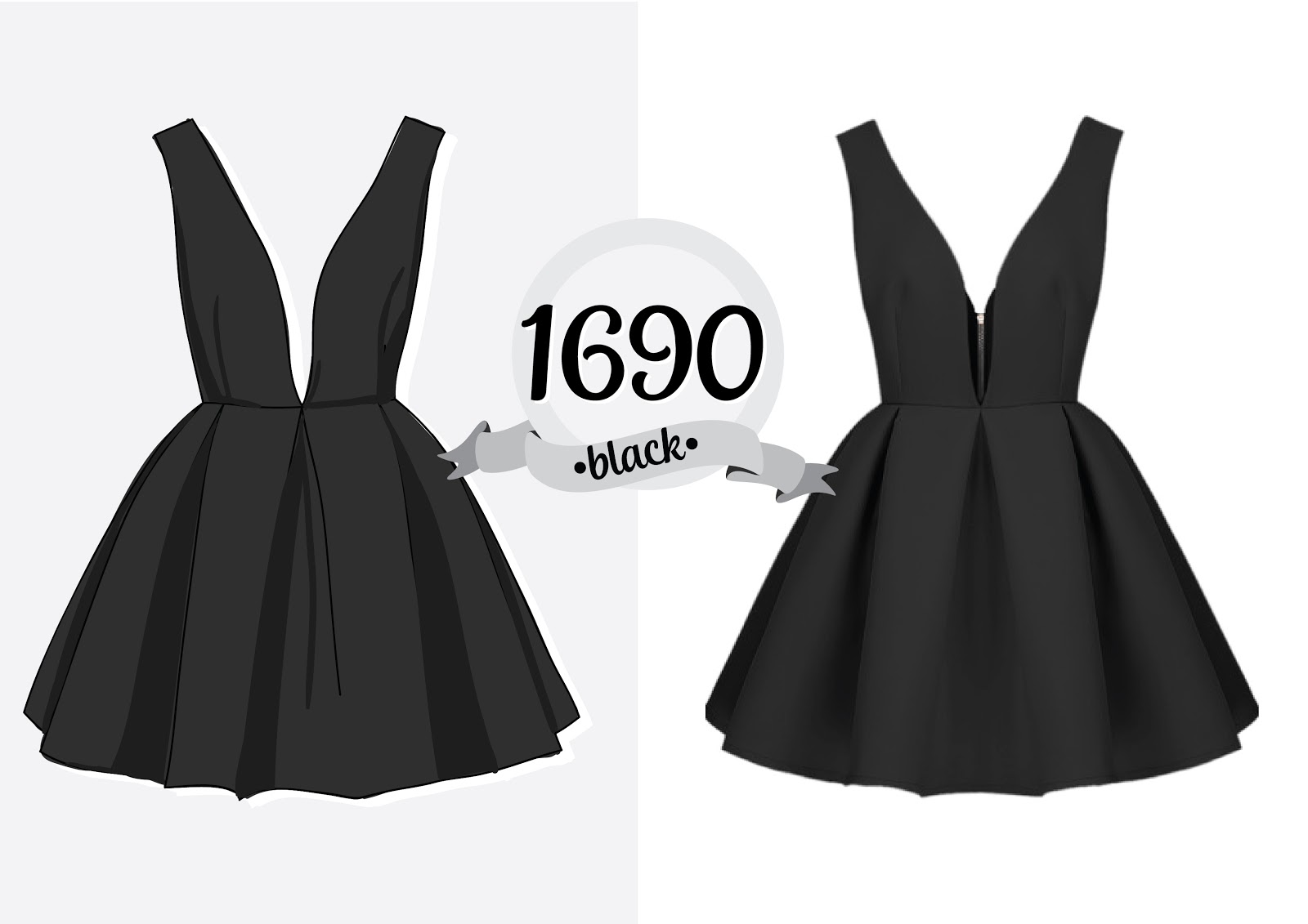 http://ru.sheinside.com/Black-V-Neck-Backless-Midriff-Flare-Dress-p-180037-cat-1727.html