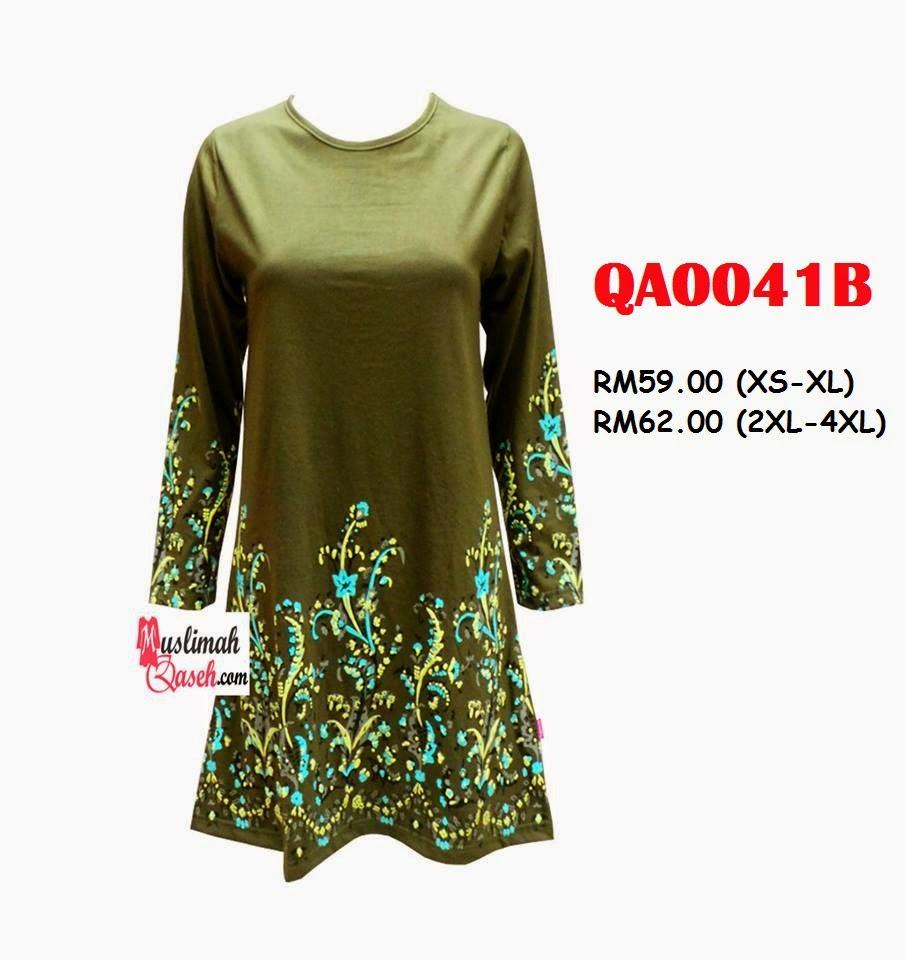T-Shirt-Muslimah-Qaseh-QA0041B