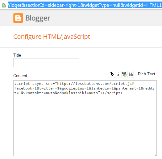How to find ID of a widget in blogger | 101helper