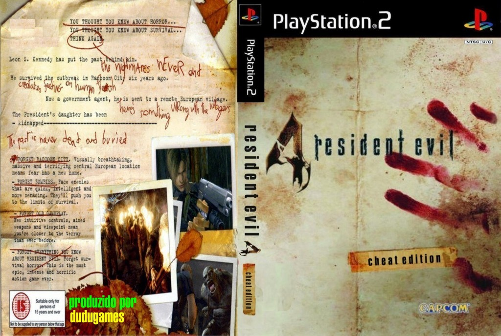 Resident Evil 4 PS2 Game Cheat Code