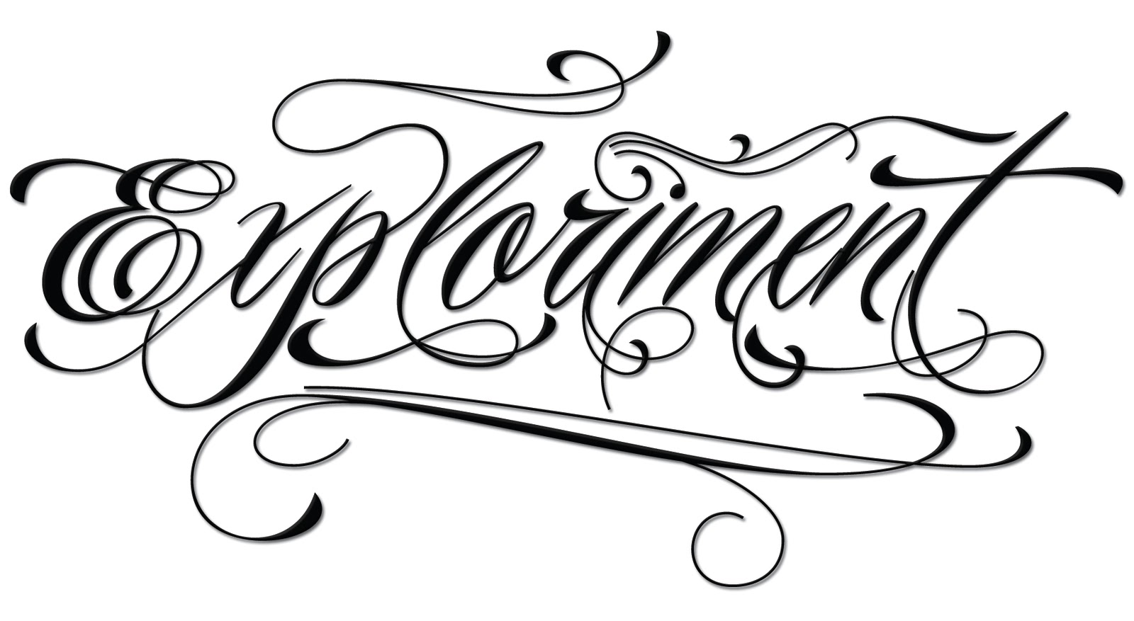 Exploriment piel script Calligraphy books free