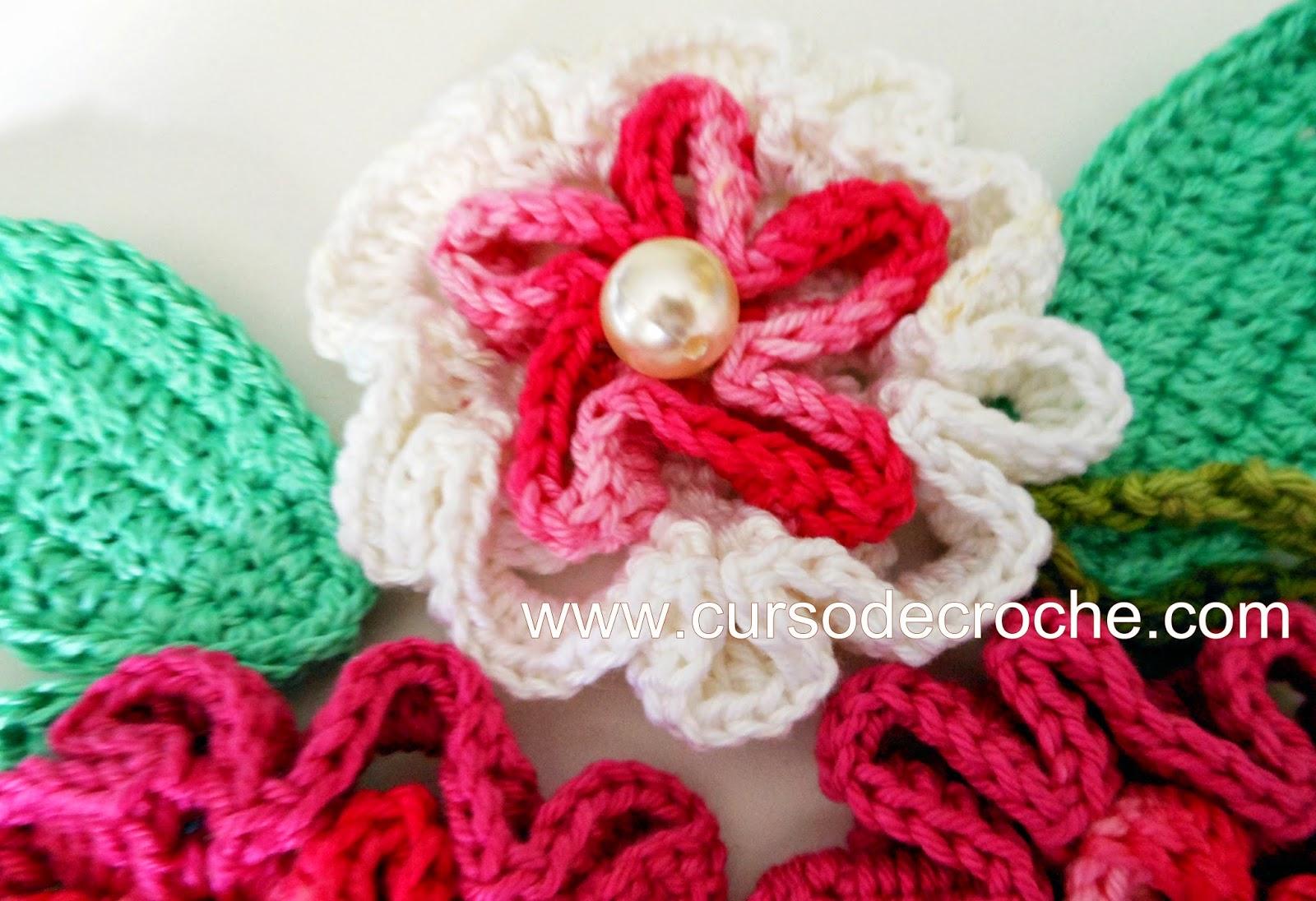 dvd flores em croche com 5 volumes com Edinir-Crocha na loja curso de croche com frete gratis