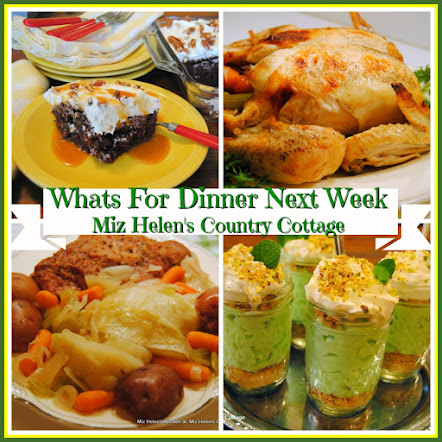 Whats For Dinner Next Week * Week Of 3-18-18