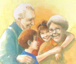 Sancionada lei que garante direito de avós visitarem os netos