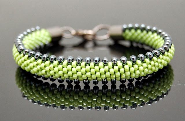 bransoletka koralikowa bead crochet bracelet inati zare 9