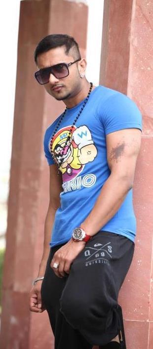 Yo Yo Honey Singh New Hair Style