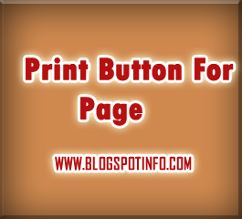 Free javascript code:Print button for page