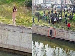 Thumbnail image for Kepayahan Seorang Lelaki Selamatkan Gadis Berbogel Terjun Ke Sungai