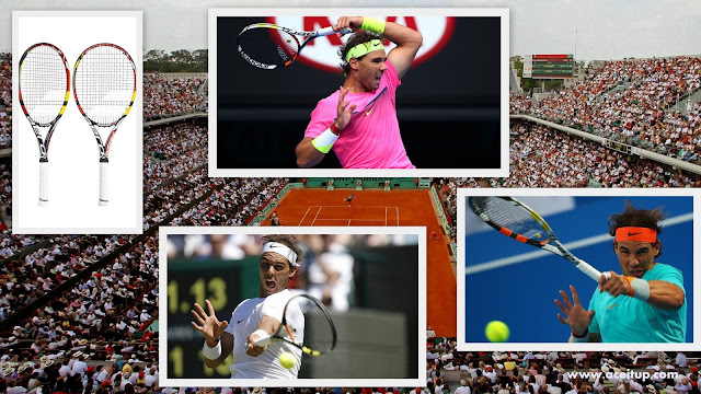 nadal racket