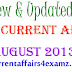 Daily Current Affairs August 2013