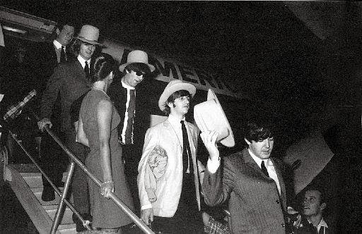 Beatles Land In Dallas