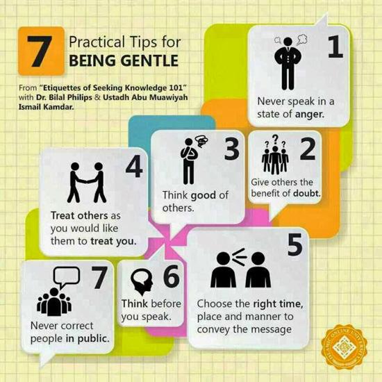 Tips menegur dan menasihat