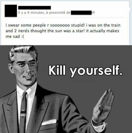 Kill Yourself Please...