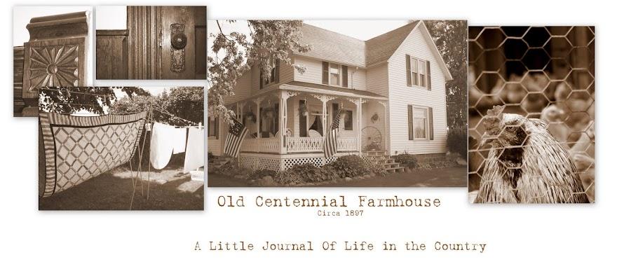 Old Centennial Farmhouse