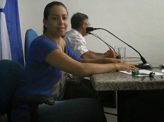 Cheila é eleita presidente da Câmara Municipal de Prata para o biênio 2015-2016