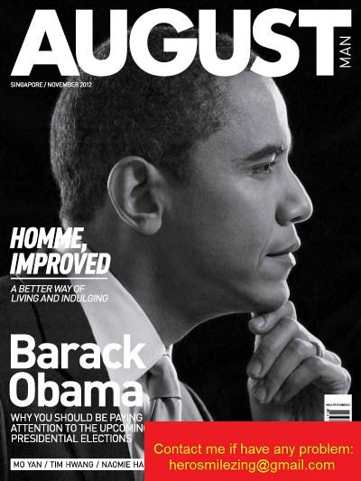 August Man Magazine - November 2012