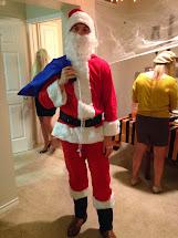 Barefoot Santa Claus