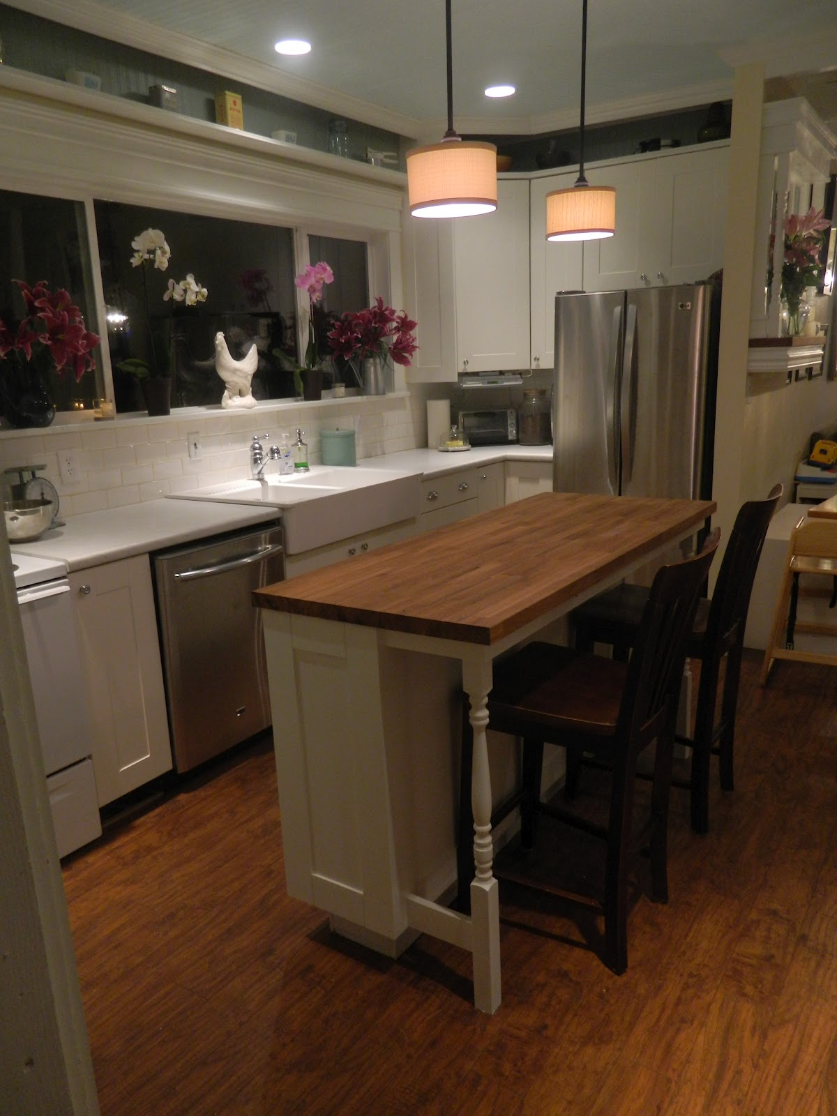 Raising The Rhyne Brine Kitchen Remodel