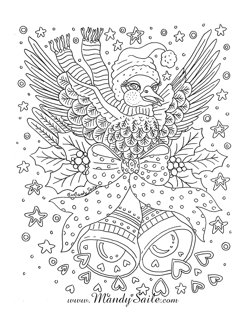 Hey Lovelies...This Is The Colouring Page going out with my new studio news...