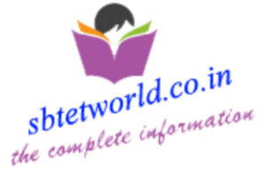 SBTET WORLD | ALL INDIA DIPLOMA UPDATES - SBTET STUDENT PORTAL