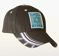 Gorra negra Maguen Jerusalém Israel