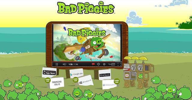 Bad Piggies es la nueva saga de Rovio como secuela de Angry Birds