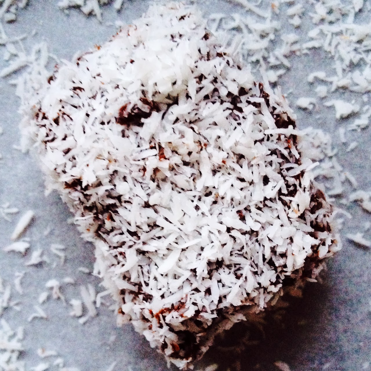 Raw Raspberry Lamingtons
