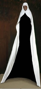 Empty Black Nun by Maïmouna Guerresi (with apologies).