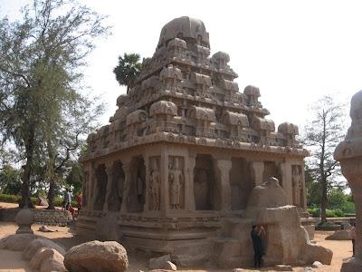 Dharmaraja Ratha, Mahabalipuram